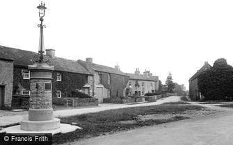 Aysgarth, Village and War Memorial 1924