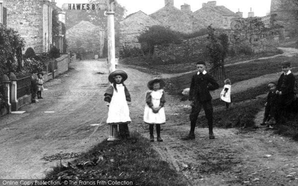 Photo of Aysgarth, Village Children 1908
