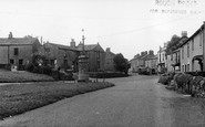 Aysgarth, War Memorial c.1955