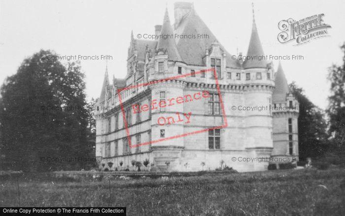 Photo of Azay Le Rideau, Chateau D'Azay Le Rideau c.1935