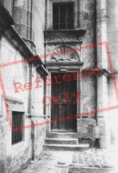Chateau D'doorway 1935, Azay-Le-Rideau