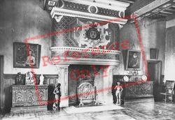 Chateau D'interior c.1930, Azay-Le-Rideau