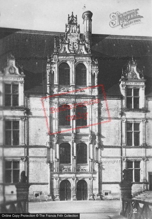 Photo of Azay Le Rideau, Chateau D'Azay Le Rideau, North c.1930