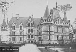 Chateau D'north c.1930, Azay-Le-Rideau