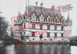 Chateau D'west c.1930, Azay-Le-Rideau