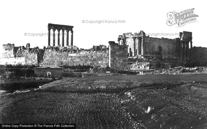 Photo of Baalbek, From The South 1857