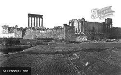 From The South 1857, Baalbek