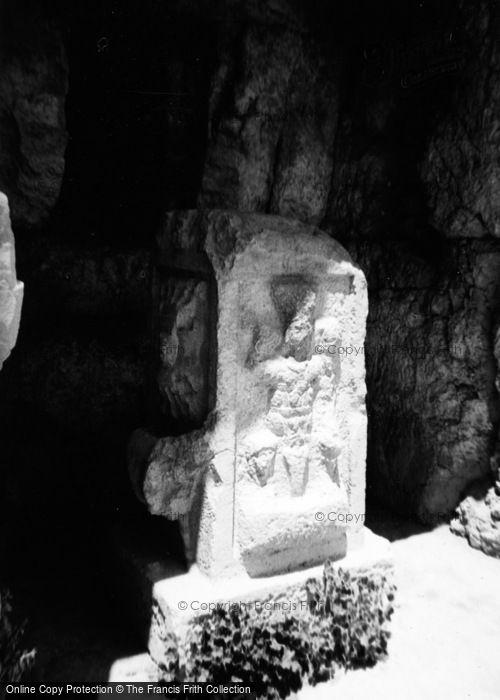 Photo of Baalbek, Sculpture Of Baal 1965