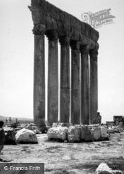 Temple Of Jupiter 1965, Baalbek