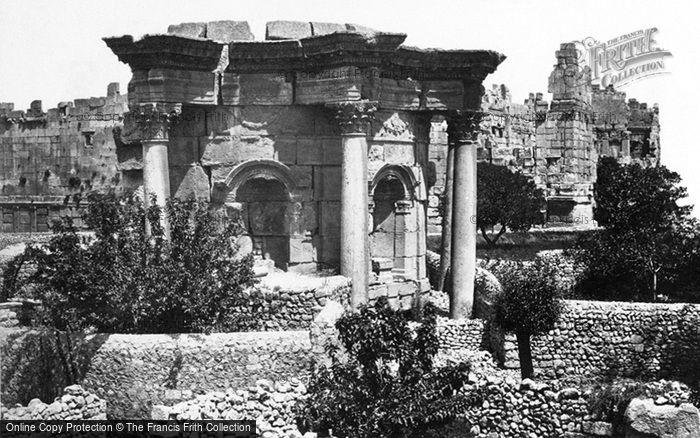Photo of Baalbek, The Circular Temple 1857