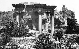 Baalbek, the Circular Temple 1857