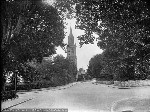 Babbacombe, All Saint's Church 1928