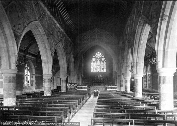 Photo of Babbacombe, All Saints Church, Nave East 1889