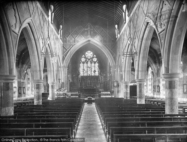 Babbacombe, All Saints Church, Nave East 1920