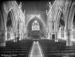 Babbacombe, All Saints Church, Nave East 1920