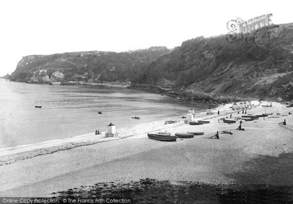 Photo of Babbacombe, And Oddicombe 1896