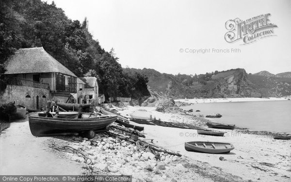 Photo of Babbacombe, Beach 1889