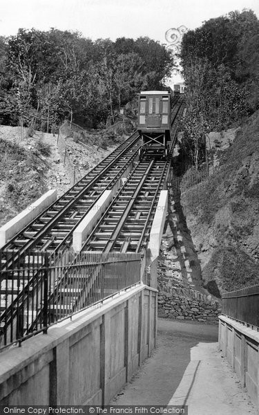 Photo of Babbacombe, Cliff Railway 1925