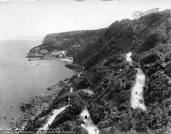 Babbacombe, Cliffs And Bay 1924