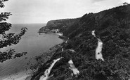 Babbacombe, Cliffs And Bay 1924