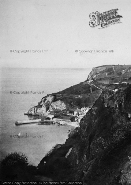 Photo of Babbacombe, Down And Cliff 1896