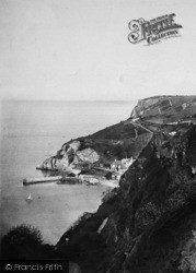 Babbacombe, Down And Cliff 1896