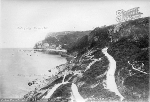 Photo of Babbacombe, Downs 1895