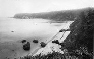 Babbacombe, From Petit Tor 1896