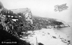 Oddicombe Beach c.1910, Babbacombe