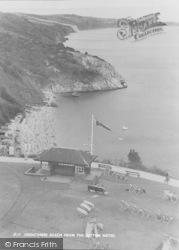 Babbacombe, Oddicombe Beach From Sefton Hotel c.1960