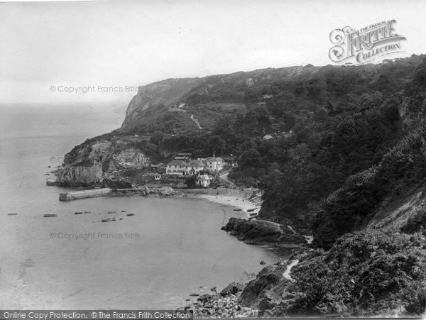Photo of Babbacombe, The Bay 1924