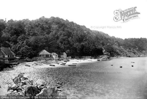 Photo of Babbacombe, The Beach 1889