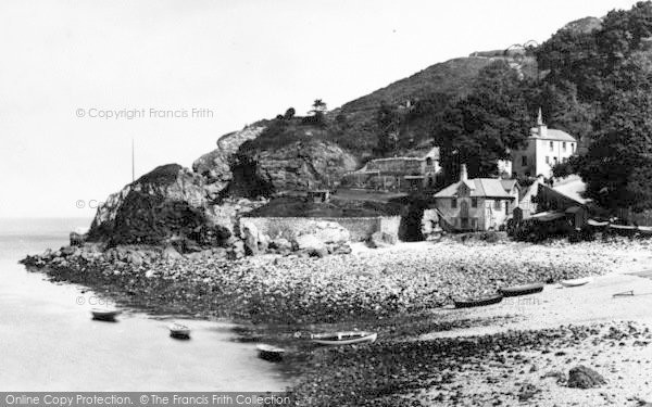 Photo of Babbacombe, The Cary Arms 1889