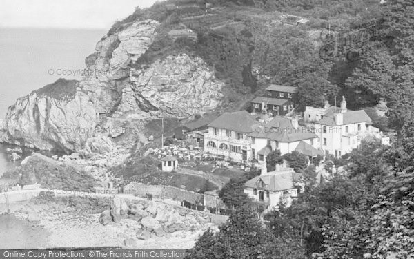 Photo of Babbacombe, The Cary Arms Inn 1928