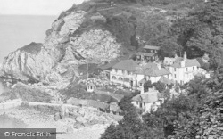 Babbacombe, The Cary Arms Inn 1928