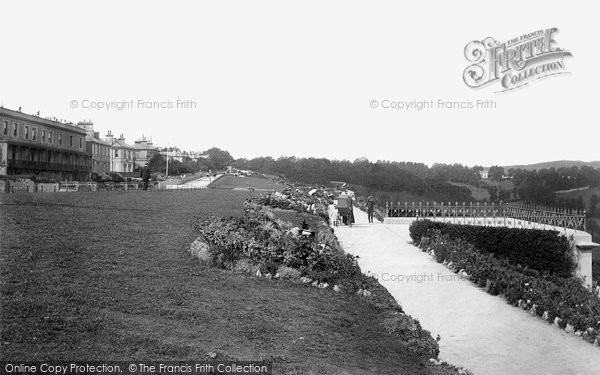 Photo of Babbacombe, The Downs 1896