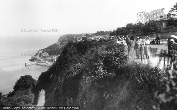 Photo of Babbacombe, The Downs 1918