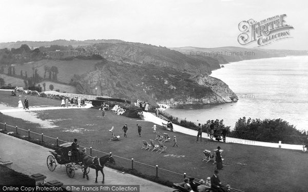 Photo of Babbacombe, The Downs 1924