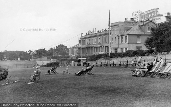 Photo of Babbacombe, The Downs 1928