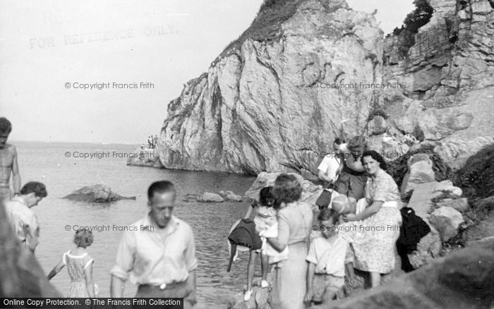 Photo of Babbacombe, The Rocks c.1955