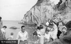 Babbacombe, The Rocks c.1955