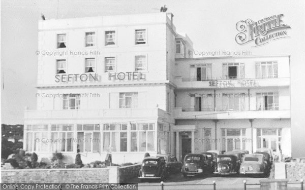 Photo of Babbacombe, The Sefton Hotel Frontage c.1960