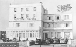 Babbacombe, The Sefton Hotel Frontage c.1960