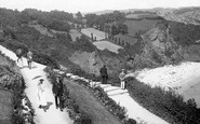Babbacombe, Walking On The Downs 1918