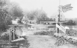 Bablock Hythe, Ferry c.1900