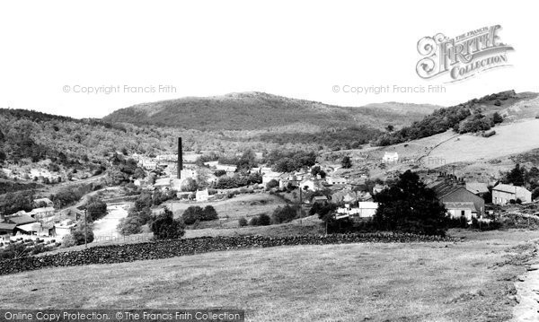 Photo of Backbarrow, The Village c.1965