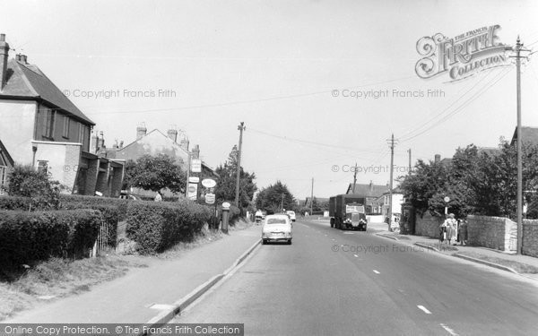 Photo of Backwell, Bristol Road c.1960