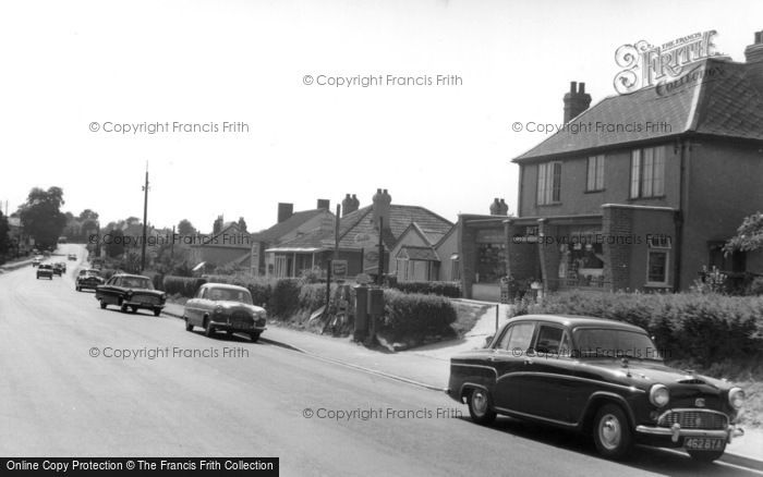 Backwell, Bristol Road c1955