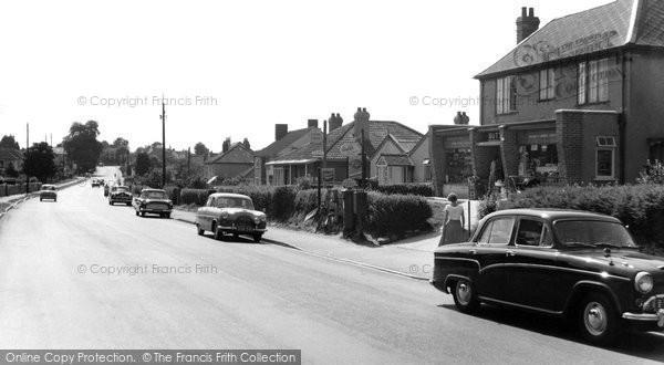 Backwell, Bristol Road c1960