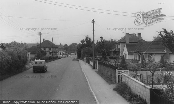 Backwell, Dark Lane c.1960